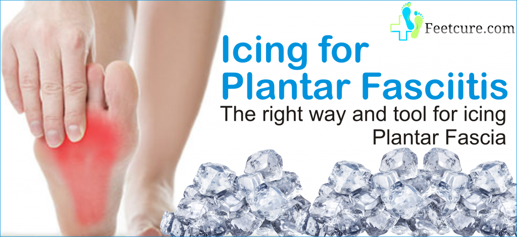 icing for plantar fasciitis